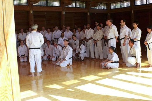 Ohshima Sensei Instructs at BBC Practice