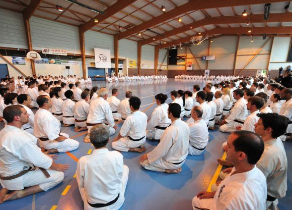 France Shotokan 50th Anniversary where David Altman received Godan in July 2014
